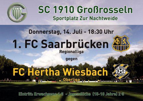 1. FC Saarbrücken - Hertha Wiesbach
